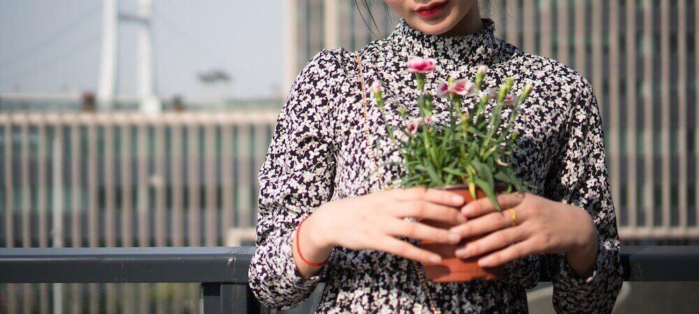 floral-print